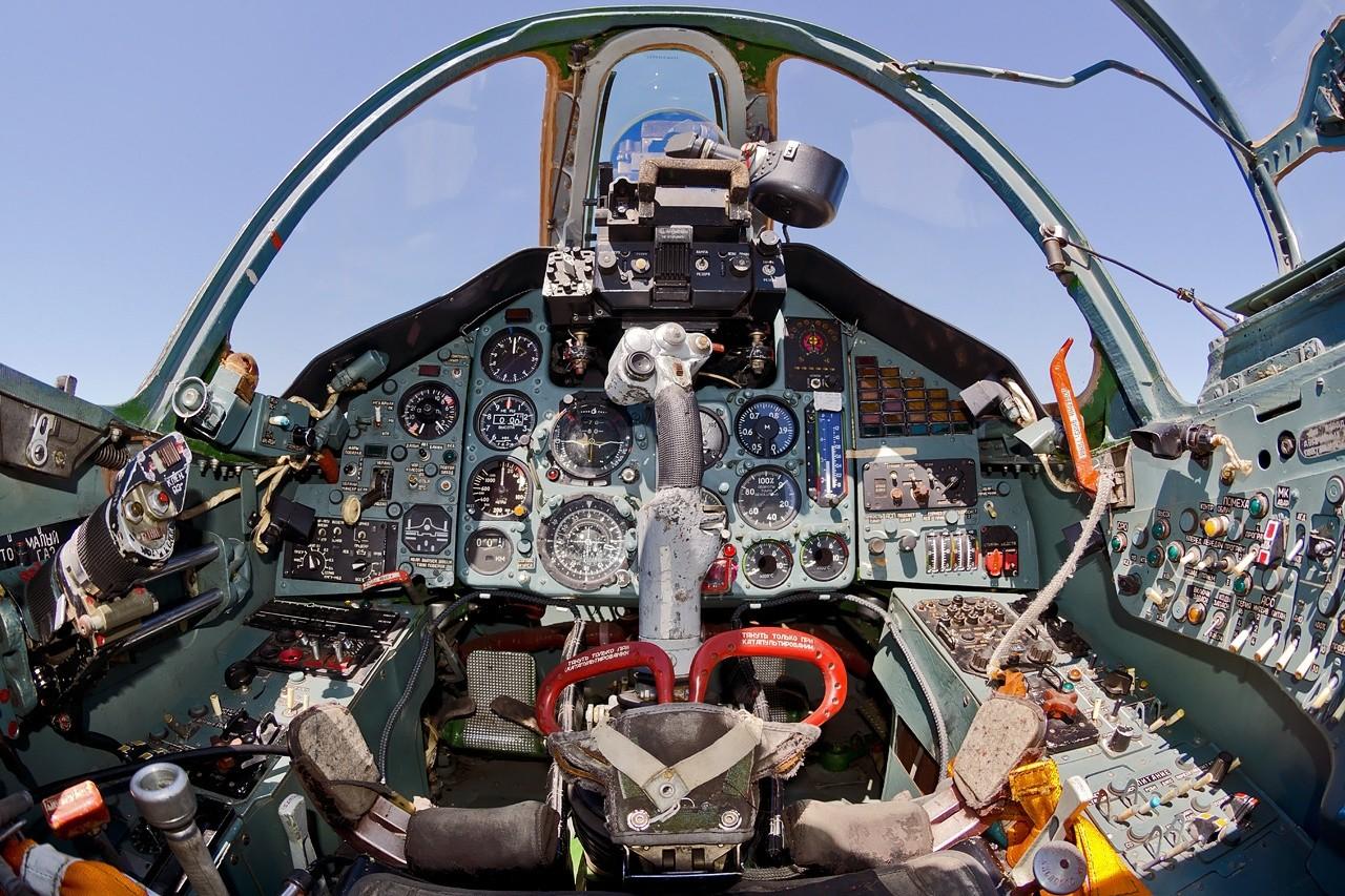 Pilotska kabina Su-25