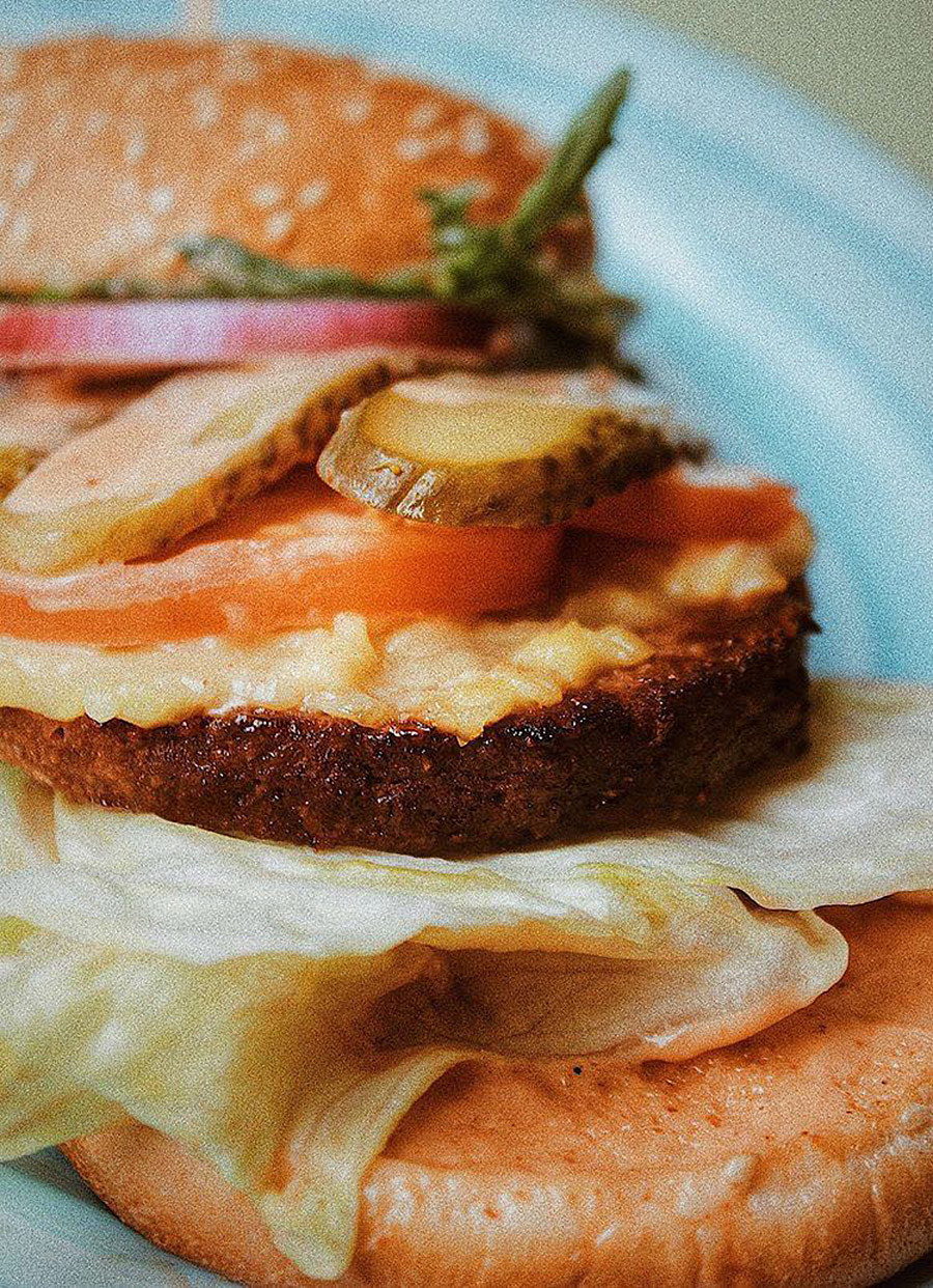 """""""Ohne Fleisch""""- Burger"""