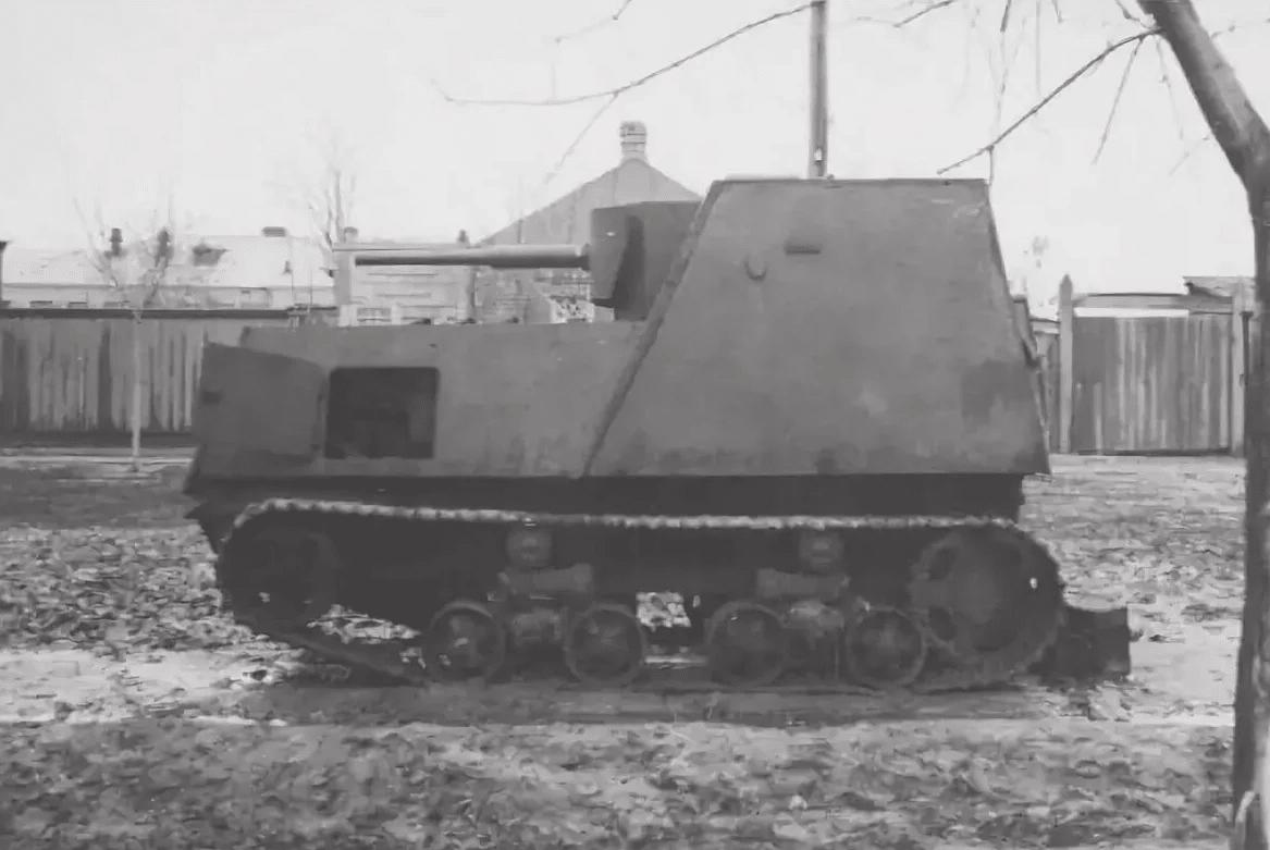即席自走砲KhTZ-16