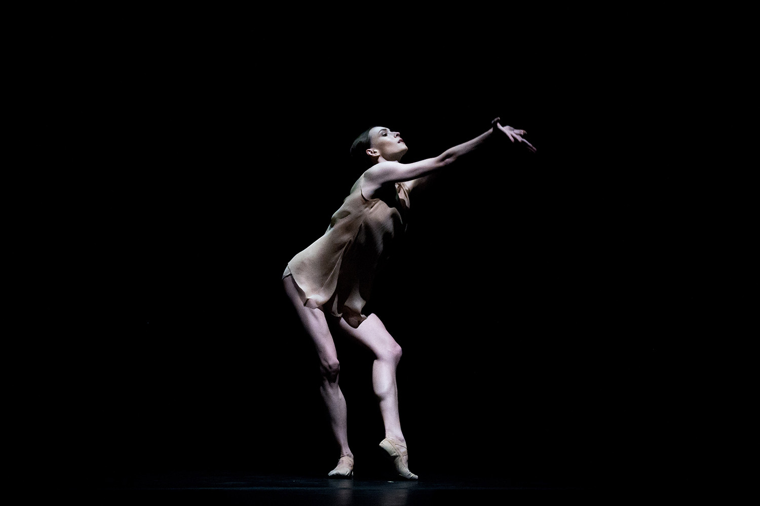 Olga Smirnova in the one-act ballet 'Just'.