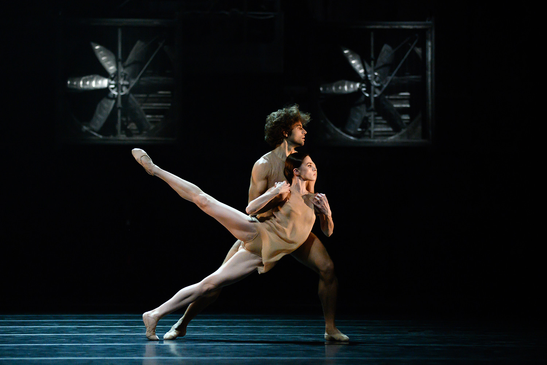 Maria Vinogradova, Igor Tsvirko in the ballet 'Just'.