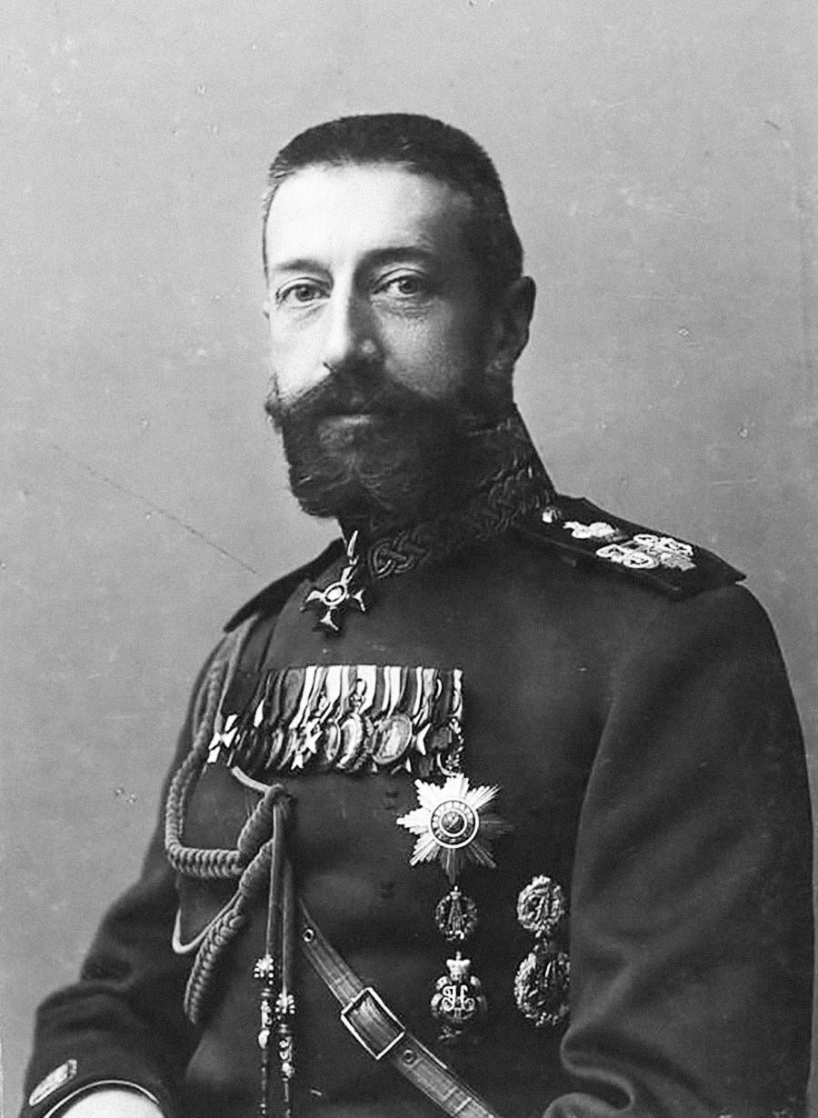 コンスタンチン・コンスタンチノヴィチ・ロマノフ大公、1903年