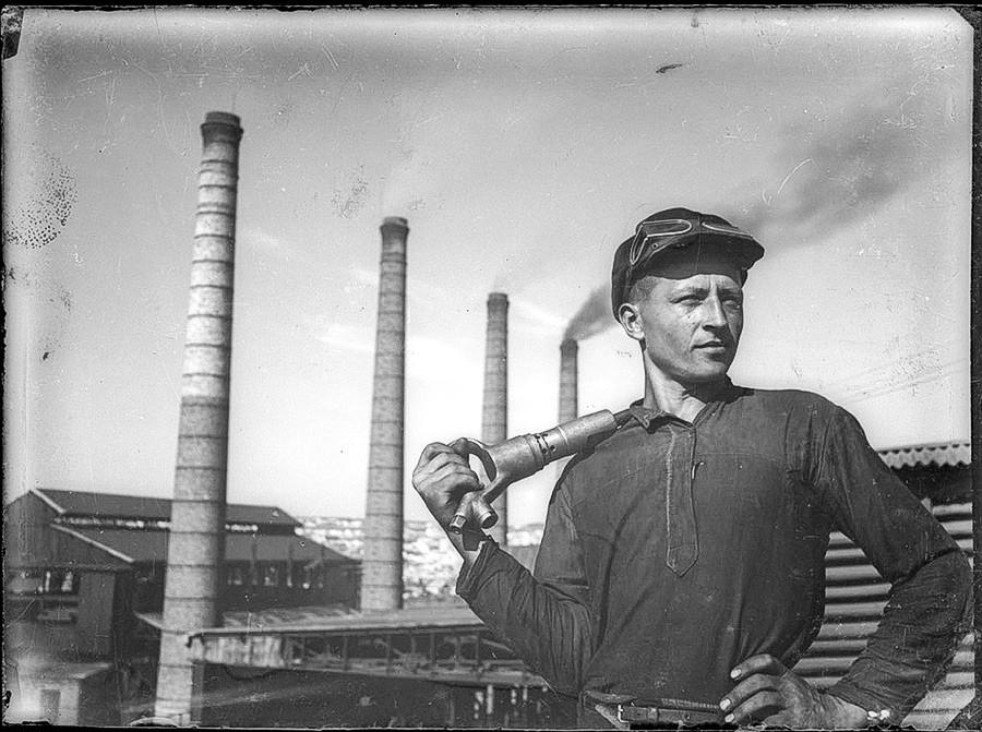 ドンバスの炭鉱夫、1934年