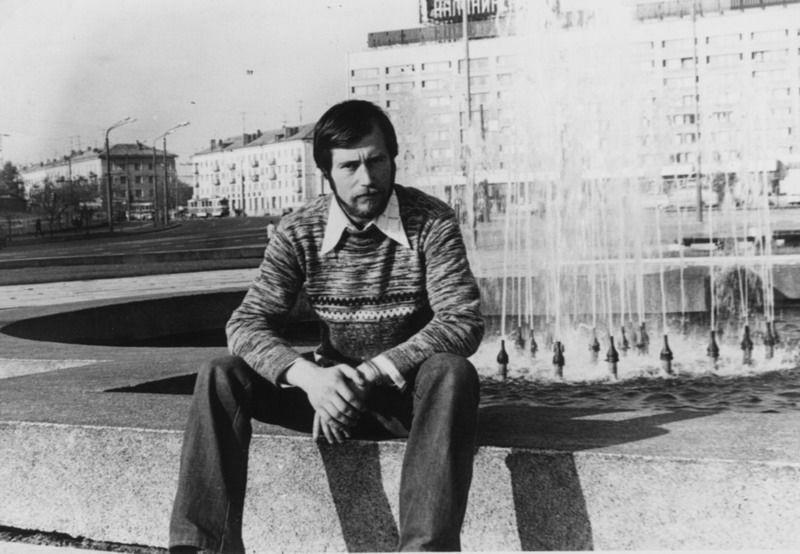 男性の肖像画、1970年代