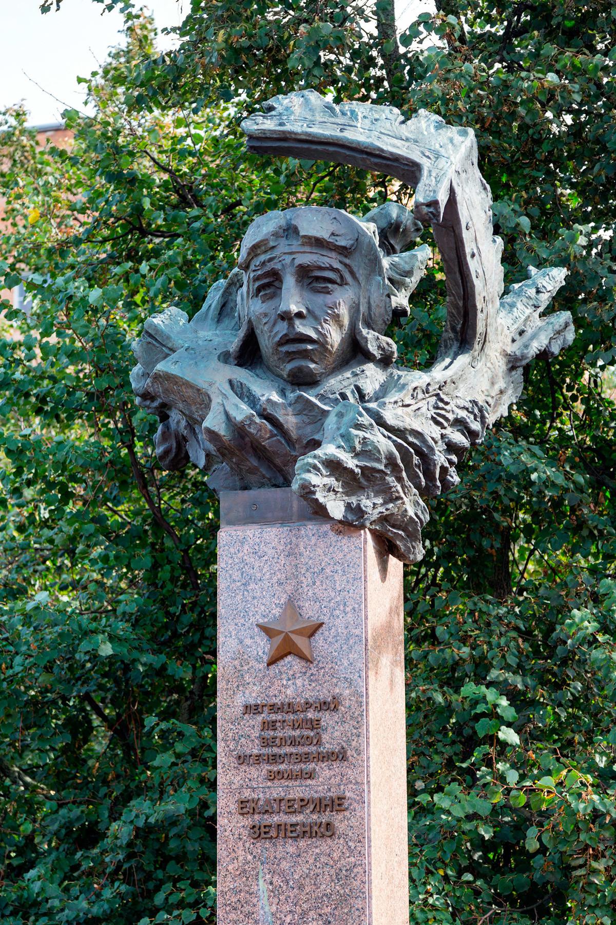 Monumento a Ekaterina Zelenko, Kursk, Rusia.