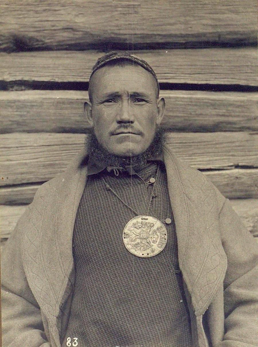 Bachkir, gouvernorat d'Oufa (actuelle République du Bachkortostan), 1900-1905