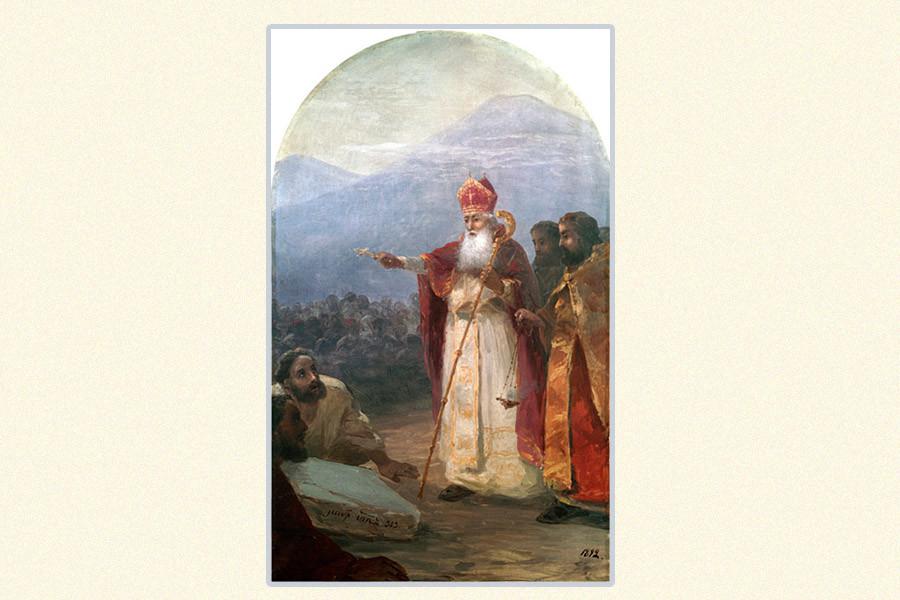 Ivan Ajvazovski: Krštenje armenskog naroda