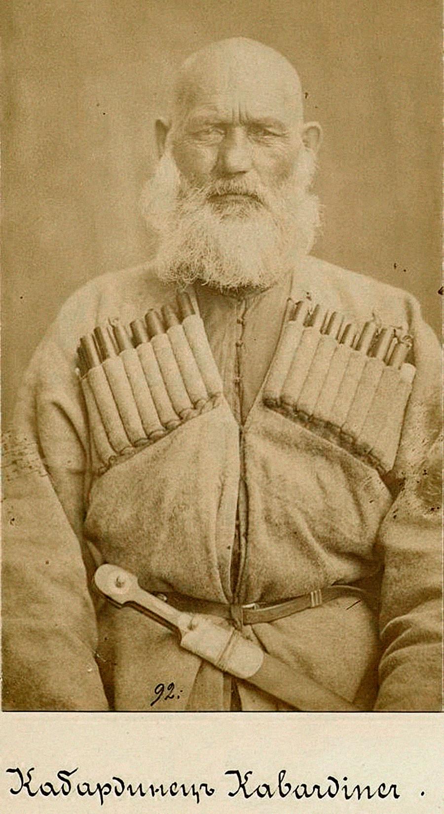 Кабардинац из Кабардије (данас Република Кабардино-Балкарија), крај 19. века