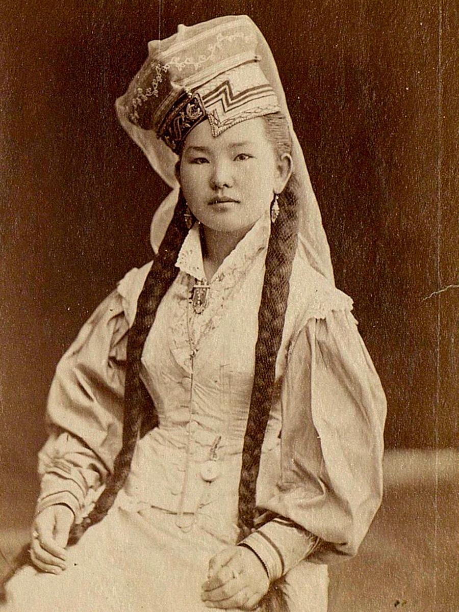 Калмикиња из Астраханске губерније, крај 19. - почетак 20. века