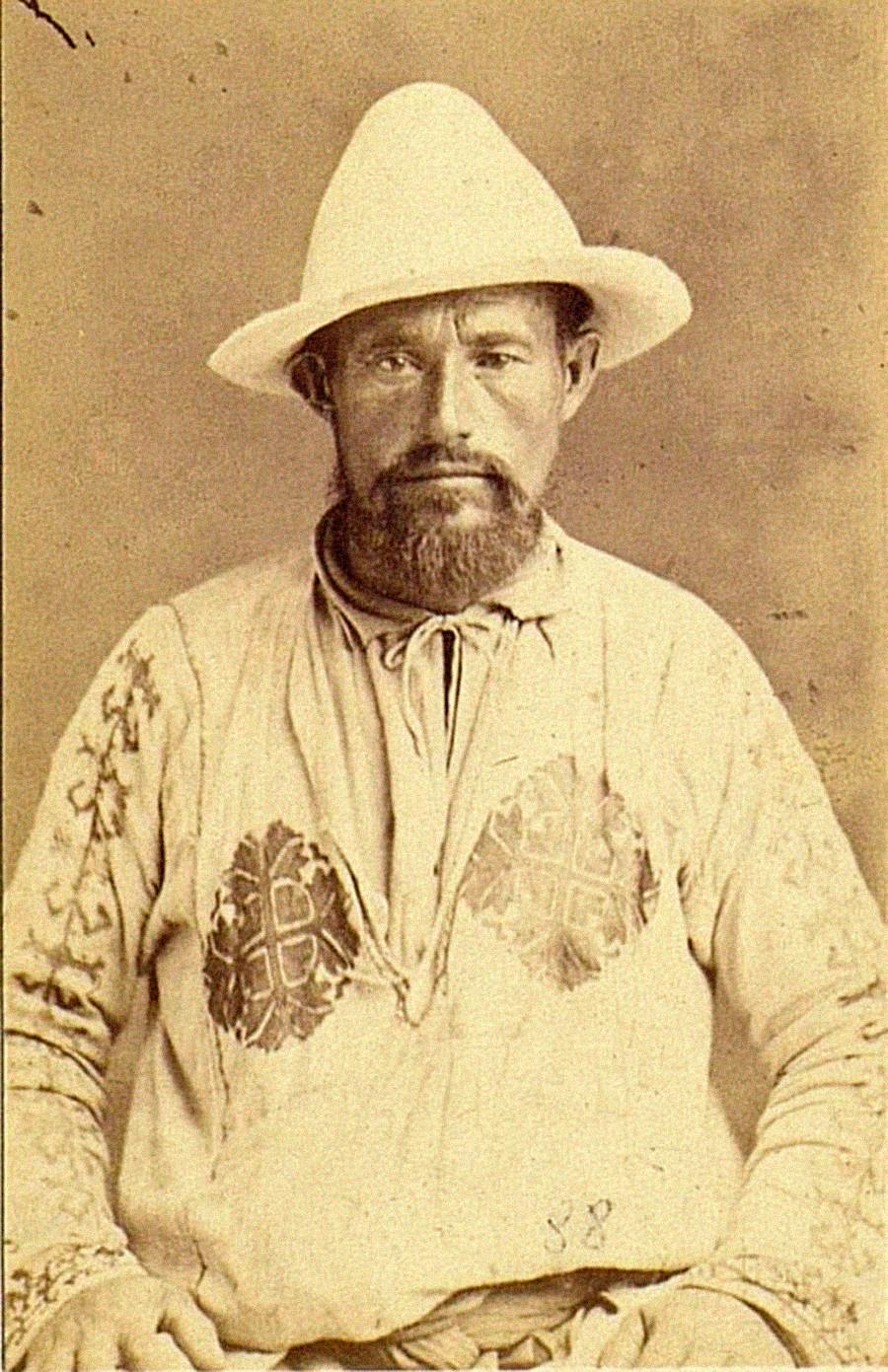 Татарин из Казањске губерније (данас Република Татарстан), 1880.