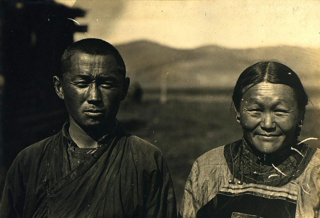 Тувинци из Урјанхајског краја (данас Република Тува), 1900 - 1905.