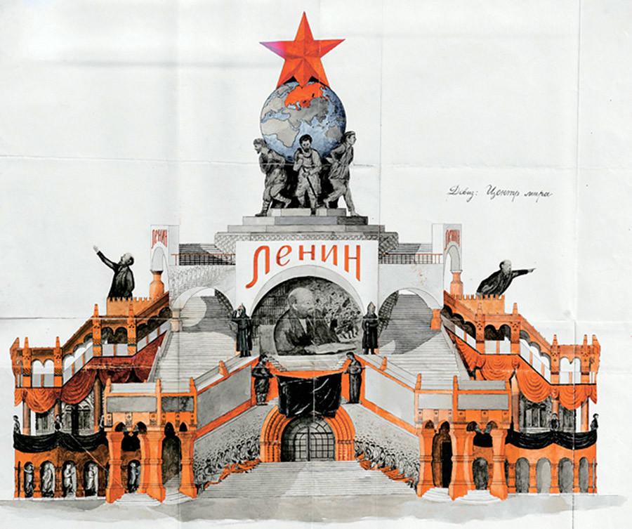 Il progetto di Ryabov a colori