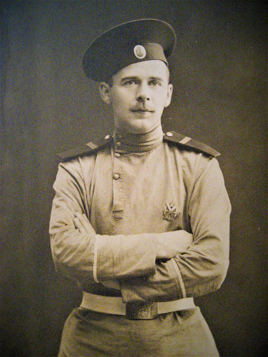 Sottufficiale di guardia del reggimento Preobrazhenksij A. N. Sinyavin