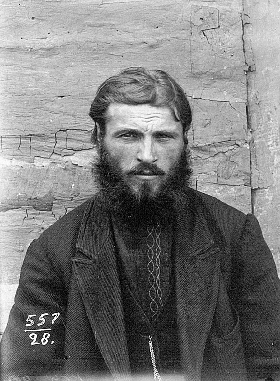 Un contadino del governatorato di Chernigov (oggi in Ucraina), 1900 circa