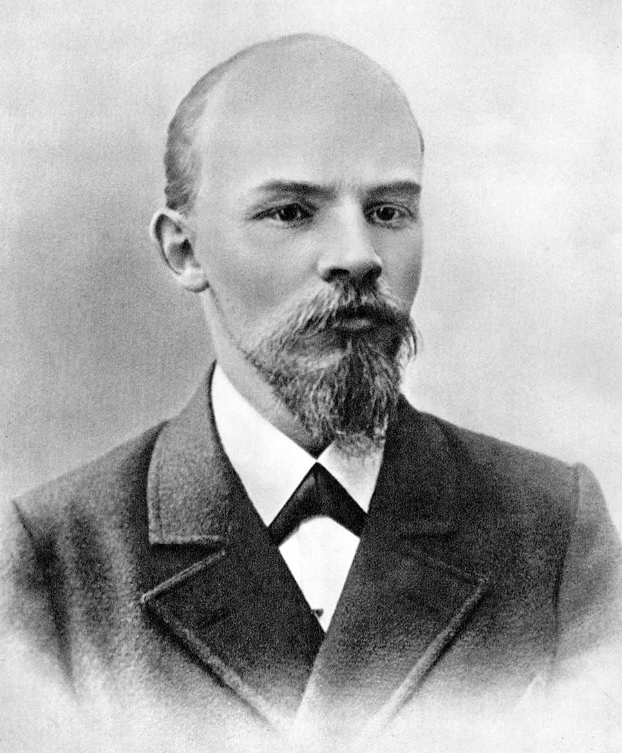 Vladimir Uljanov (Lenjin), ruski revolucionar, boljševik. Moskva, Rusija, veljača 1900.