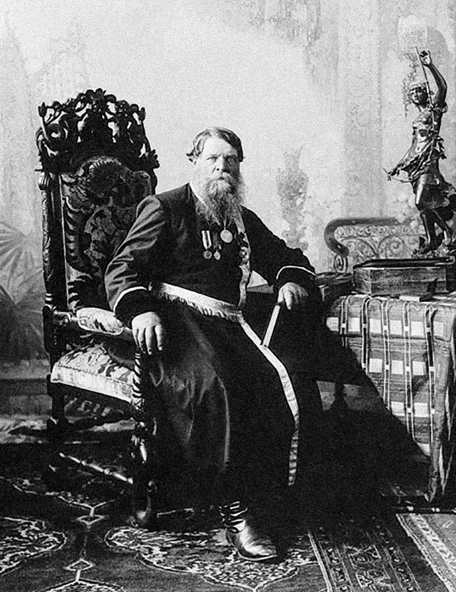 Нижегородский купец Сергеев, 1900-е