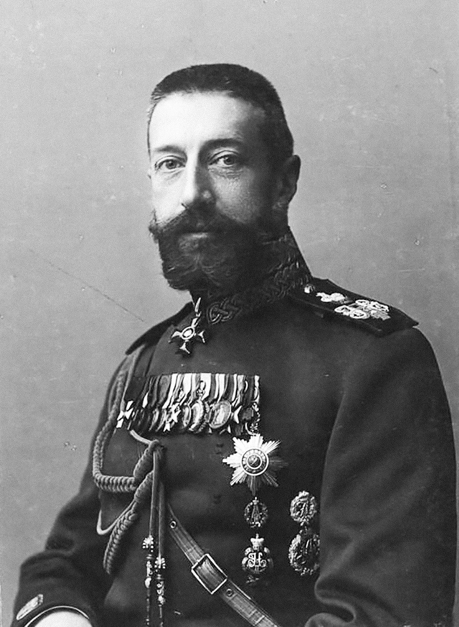 Великий князь Константин Константинович Романов, 1903