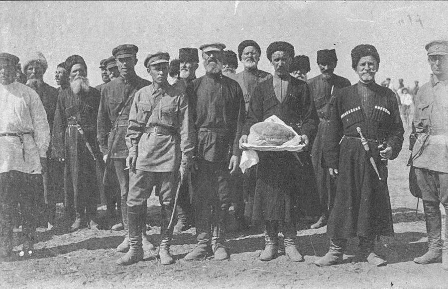 Suku Cossack Kuban, 1927.