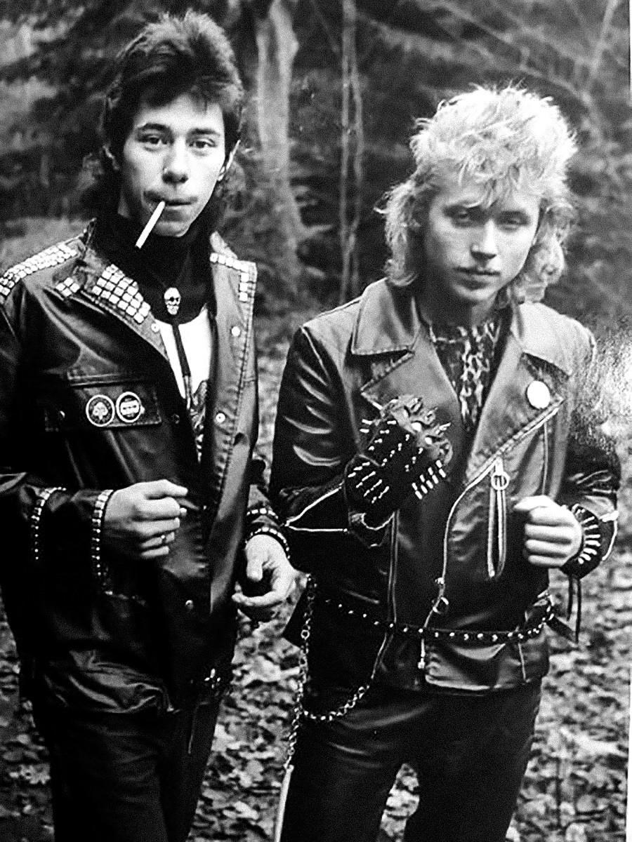 Musisi rok, 1985.