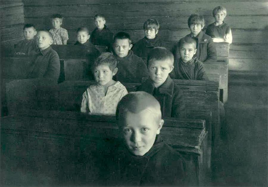 Une école de village