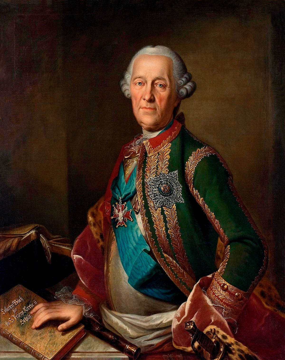 Портрет на граф Мюних Хайнрих Бухолц