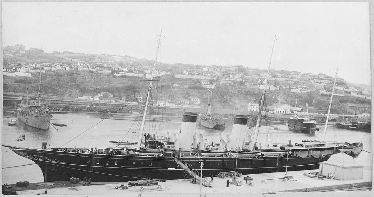 セヴァストポリにて、1914年
