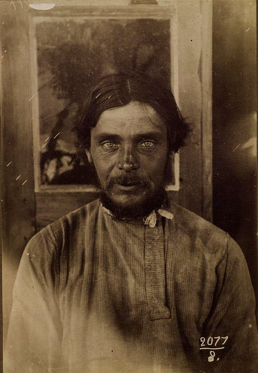 ロシア人農民、リャザン県、1900年ー1905年