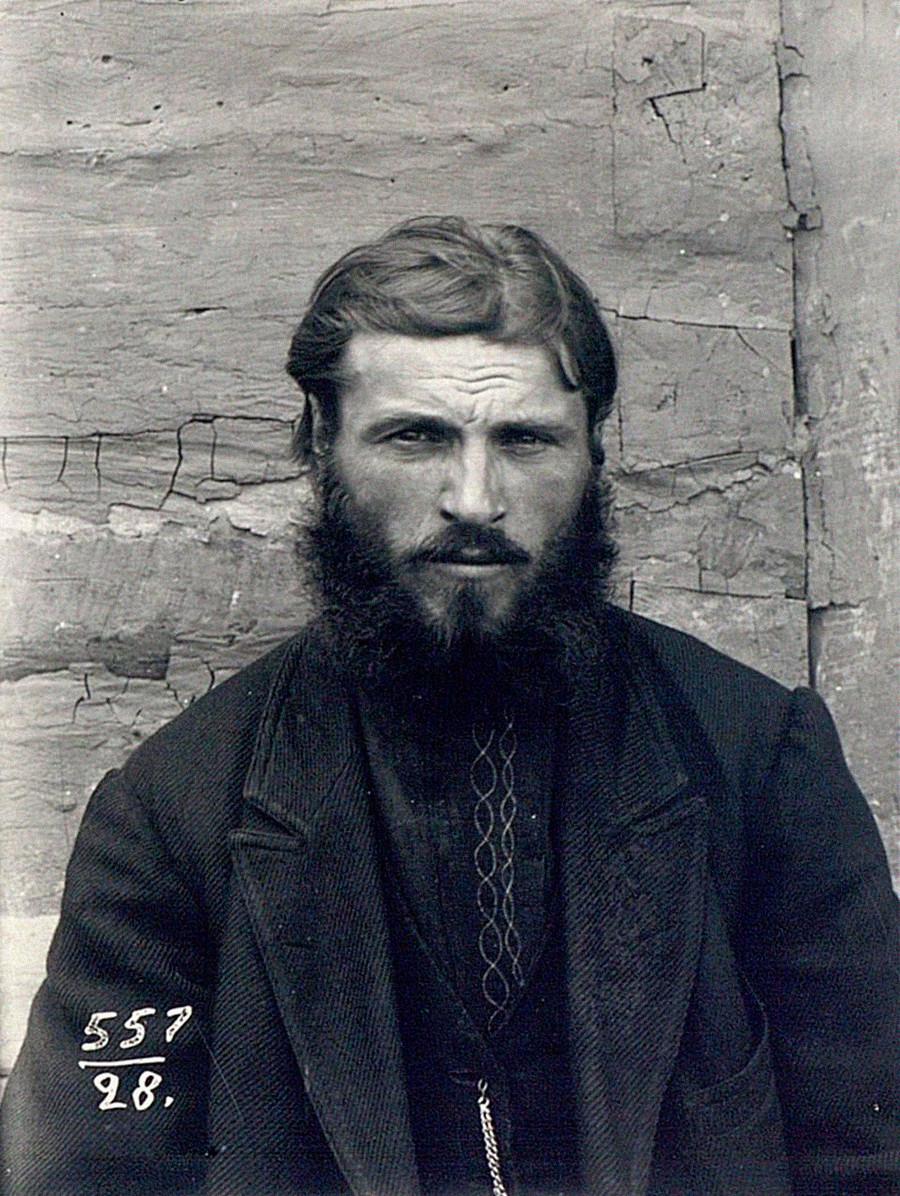 ウクライナ人農民、チェルニゴフ県(現ウクライナ、チェルニヒウ)、1900年ー1905年