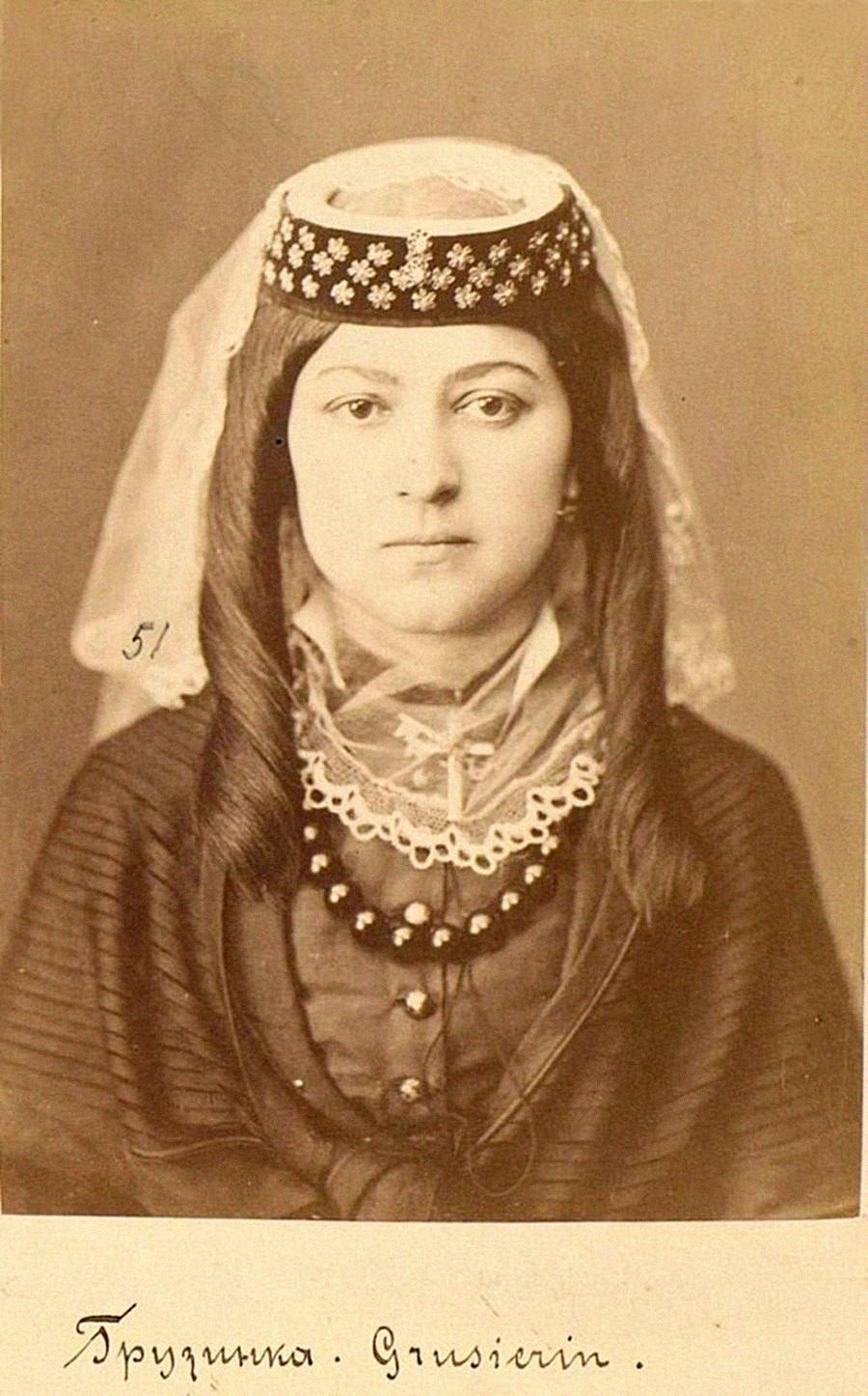 グルジア人、チフリス県(現グルジア(ジョージア)、トビリシ)、19世紀末