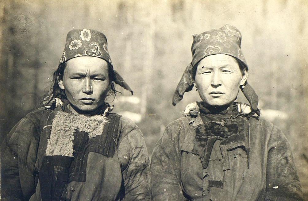 トファ人女性、イルクーツク県、1900年―1905年