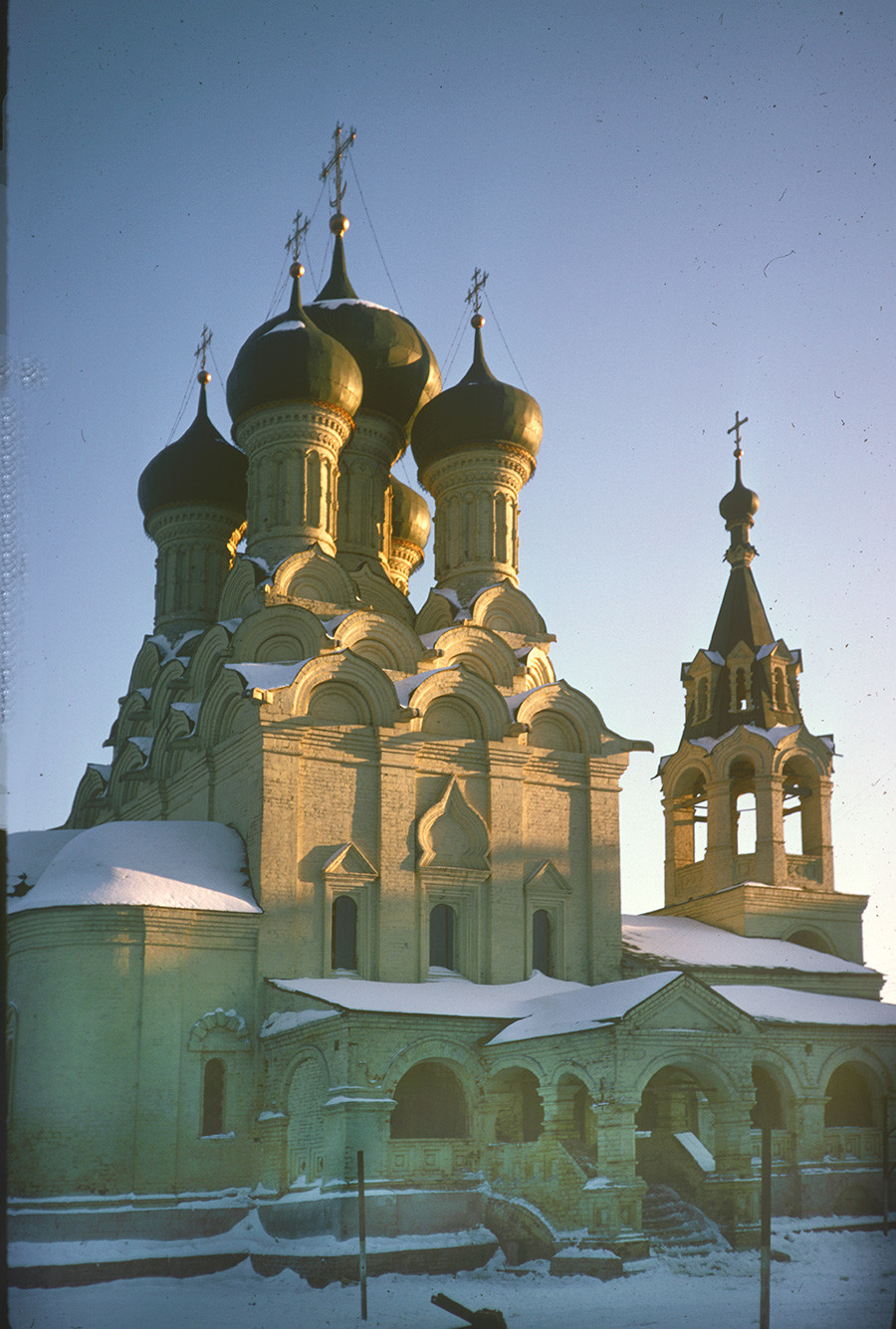 Church of the Dormition, northeast view. March 6, 1972