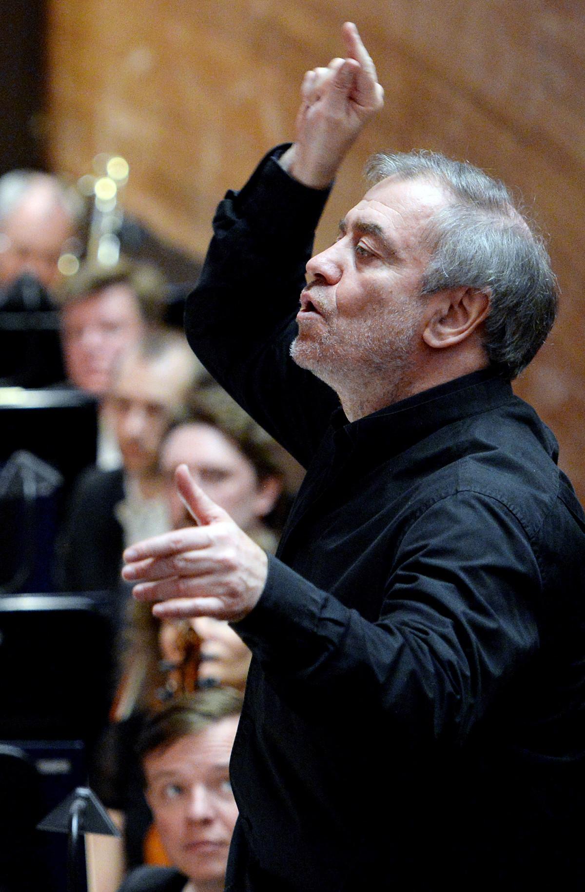 Художественият директор на Мариинския театър, диригентът Валерий Гергиев