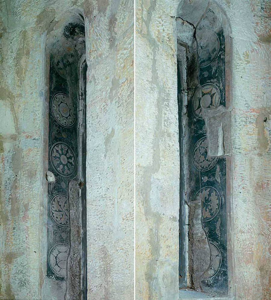 Andrei Rublev murals in the Cathedral of the Savior in the Spaso-Andronikov Monastery