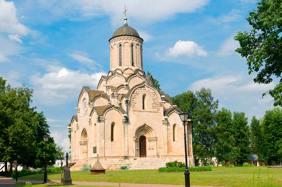 The  Cathedral of the Savior in the Spaso-Andronikov monastery