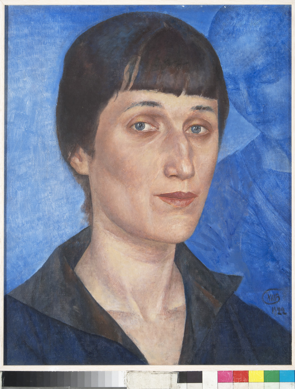 Kuzma Petrov-Vodkin / Ritratto della Poetessa Anna Akhmatova, 1922