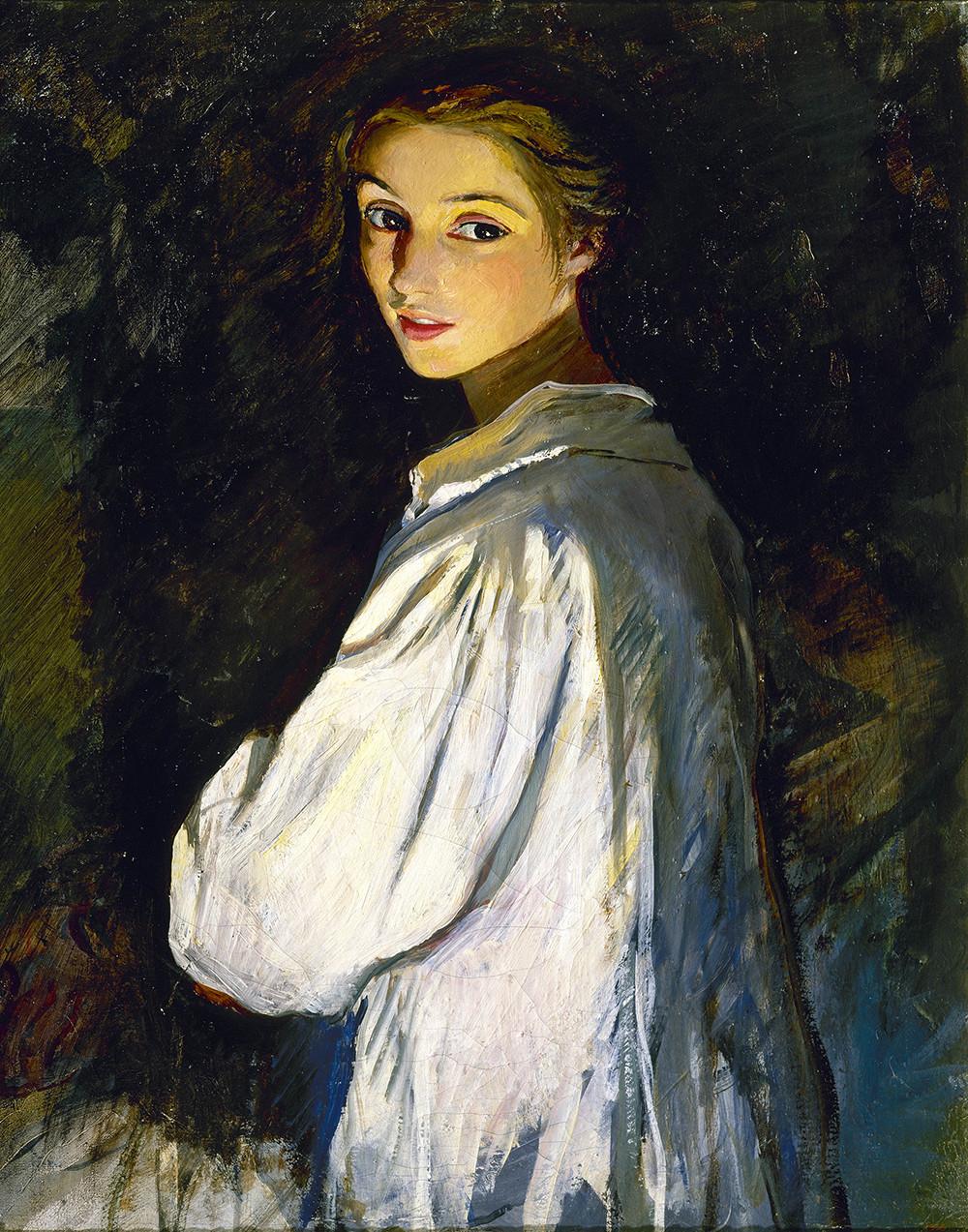 Zinaida Serebrjakova / Autoritratto, 1911