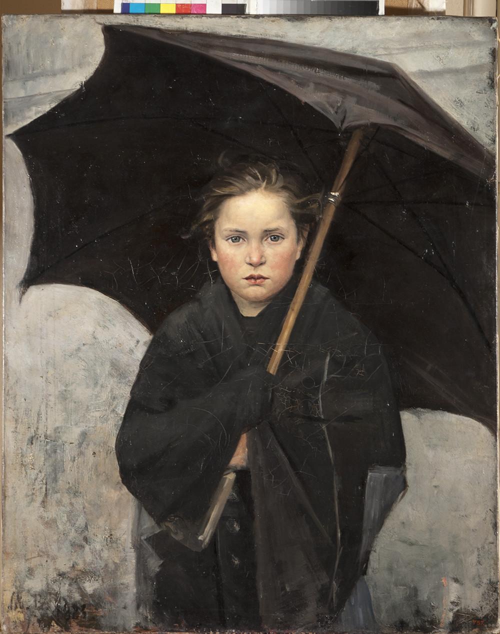Maria Bashkirtseva / Ombrello, 1883