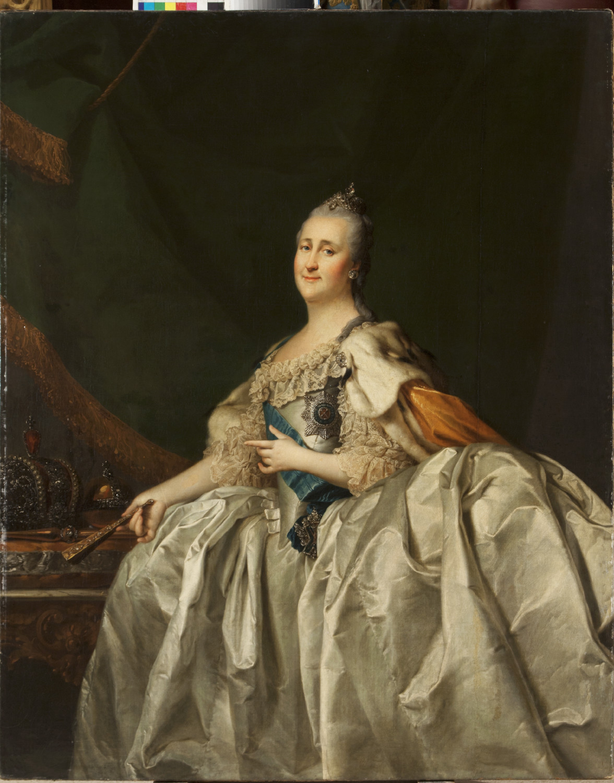 Dmitrij Levitskij / Ritratto di Caterina II, 1782