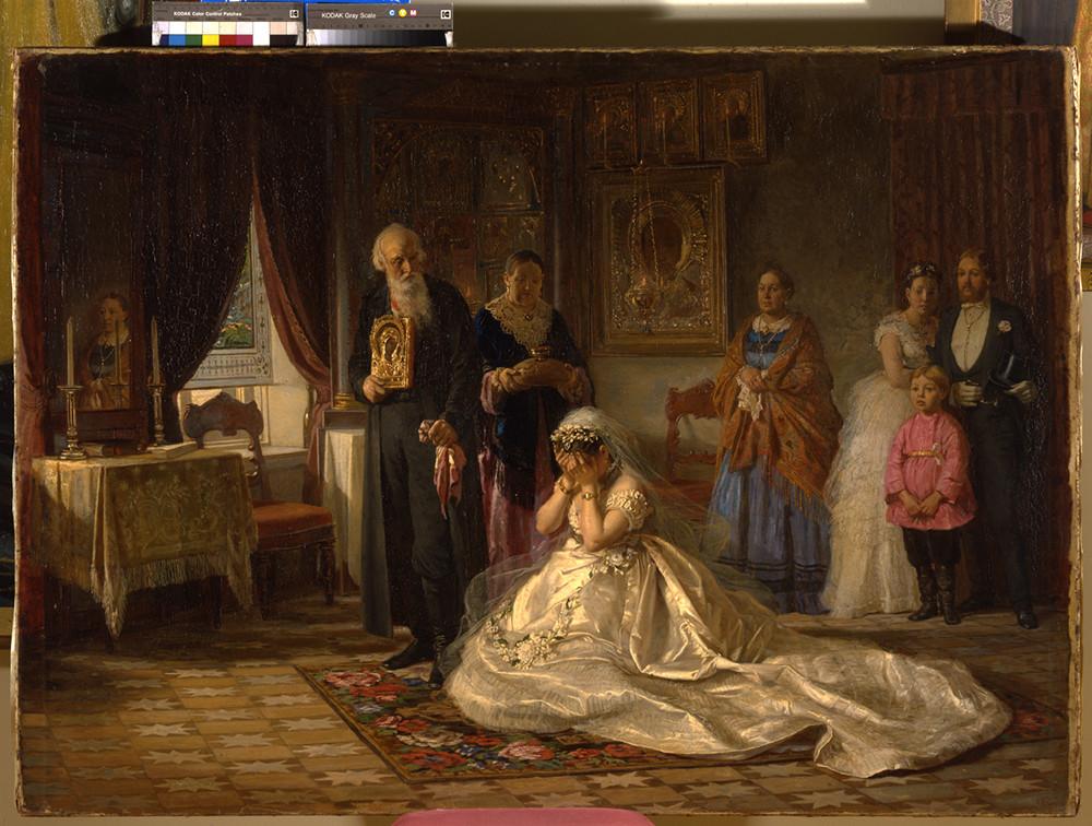 Firs Zhuravlyov / Prima del matrimonio, 1874