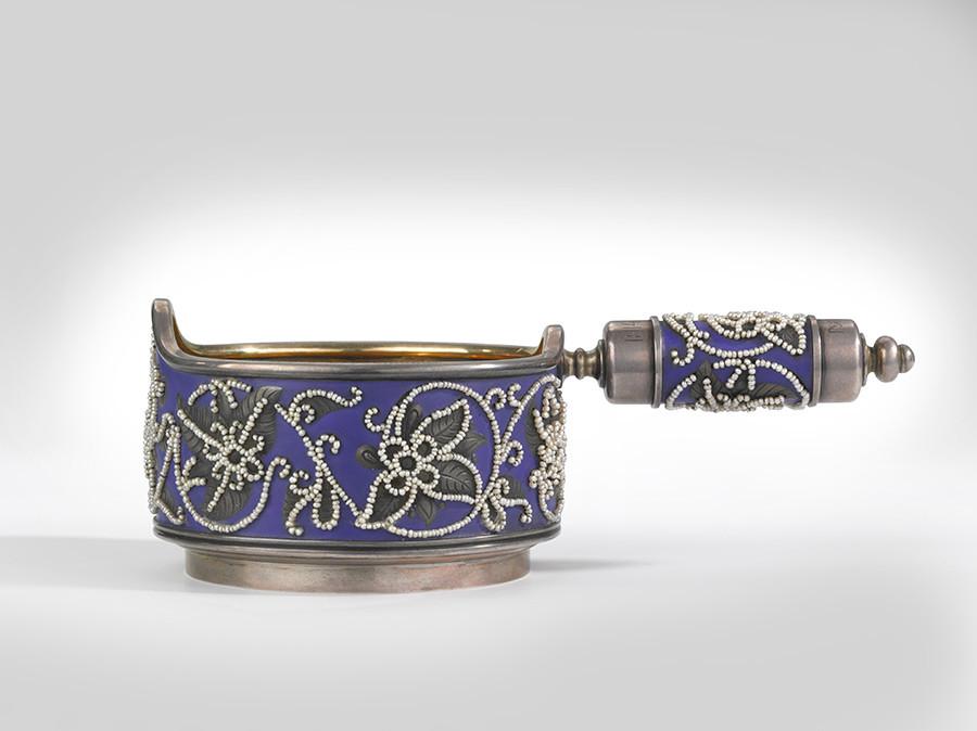 Vase à boire. Entreprise K. Fabergé