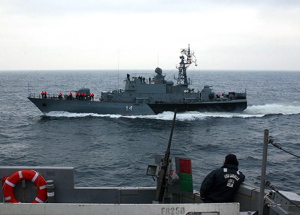 Buque 'Bodri', del proyecto 1241.2, perteneciente a la Armada de Bulgaria.