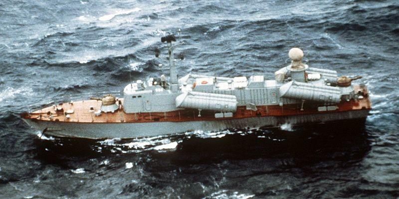 Osa II cubana fotografiada desde el aire en 1982.