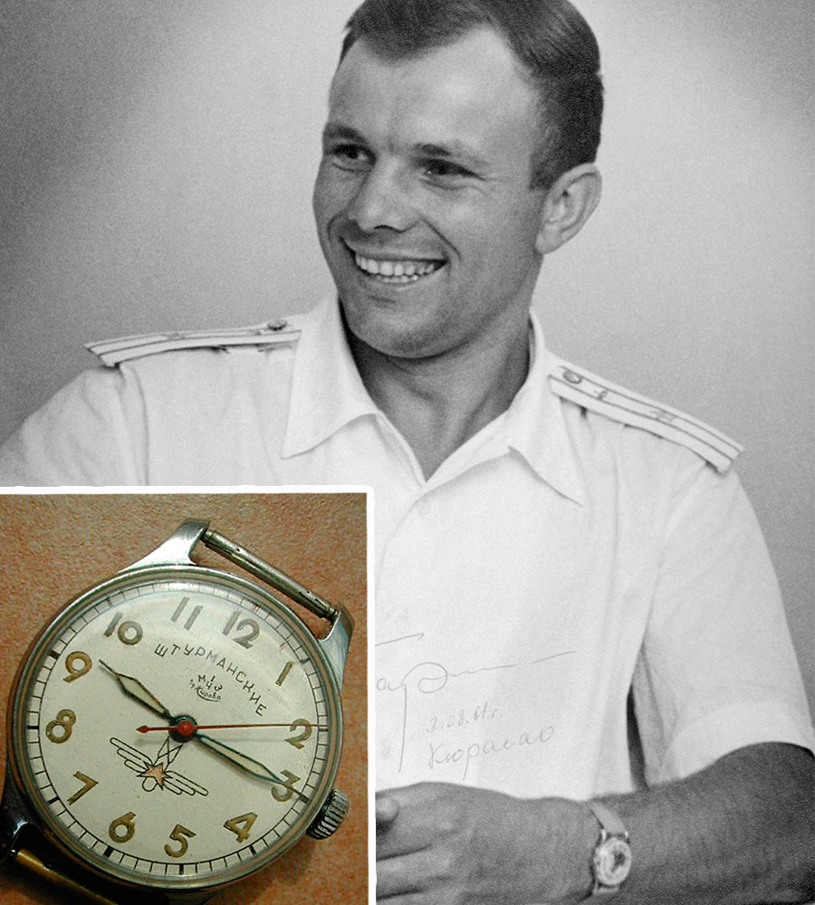 Soviet cosmonaut Yuri Gagarin was the first man to travel into space in 1961.
