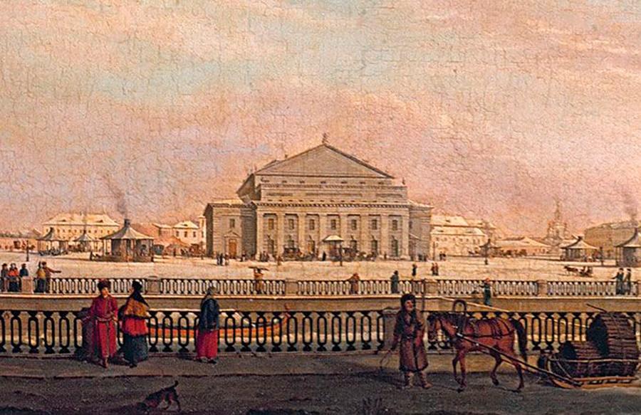 Il Teatro Bolshoj Kamennyj di San Pietroburgo che non esiste più