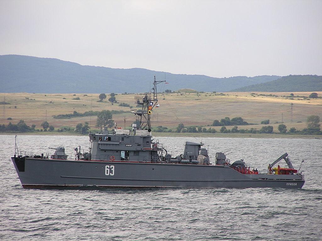 Brod klase Jahont №63 Priboj u Burgasu (Bugarska)