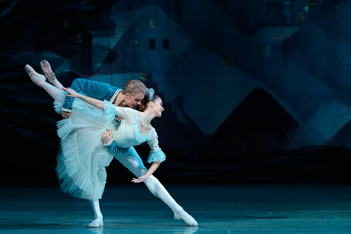 Scène du ballet