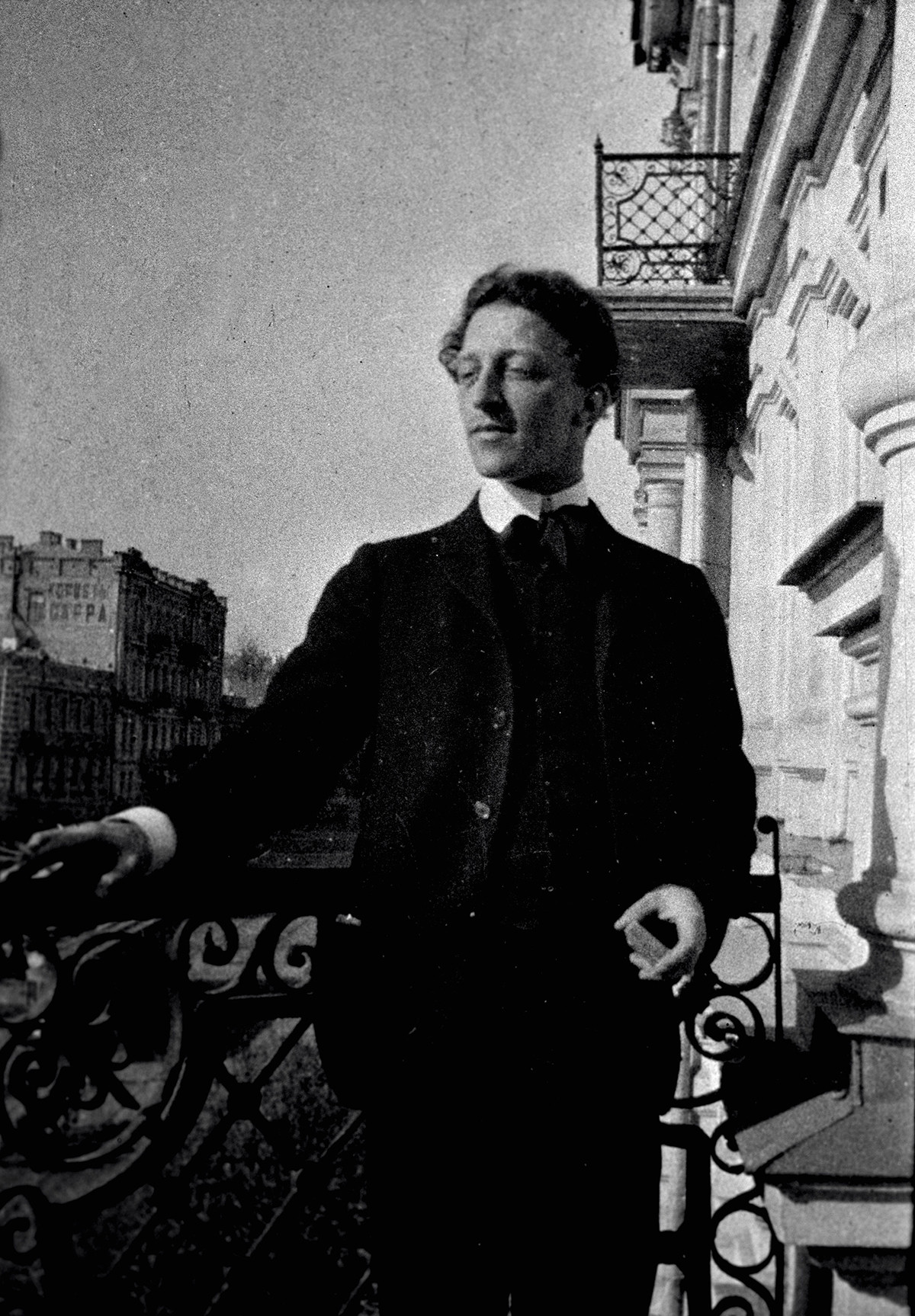 Руският поет Александър Блок (1880-1921)