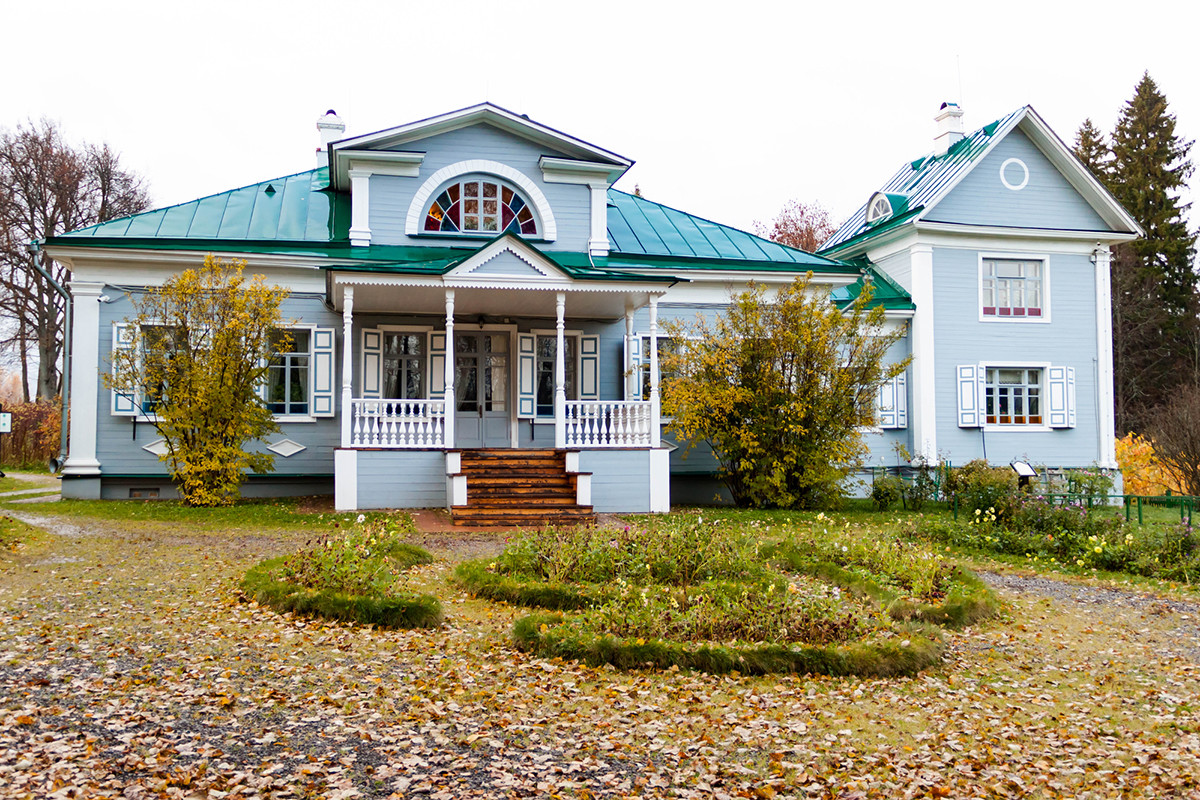 Shakhmatovo, a museum-estate near Moscowdevoted to Alexander Blok