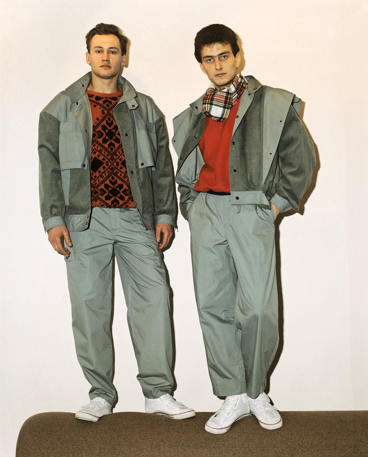 Due ragazzi negli anni '80