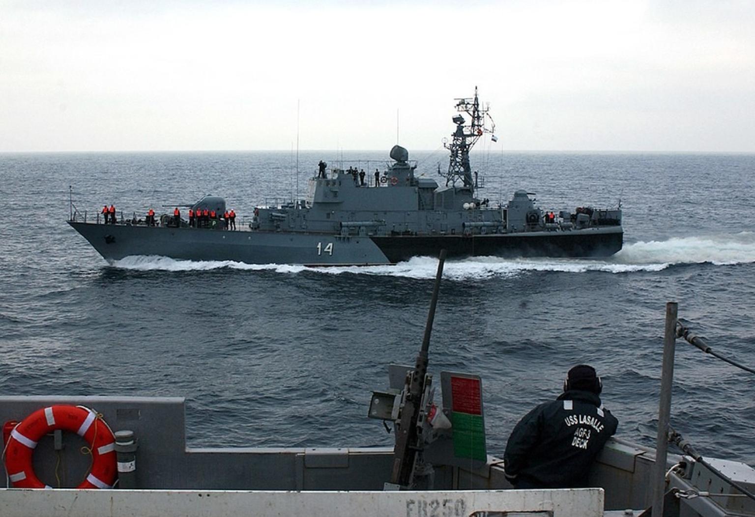 Брод Бодри пројекта 1241.2, који припада бугарској морнарици.